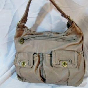 MARC JACOBS Leather Shoulder Bag Satchel